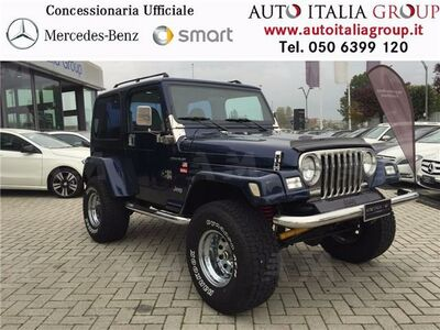Jeep Wrangler 4.0 cat Hard top (EU) del 1997 usata a Pisa